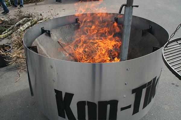 Pflanzenkohle Kon-Tiki